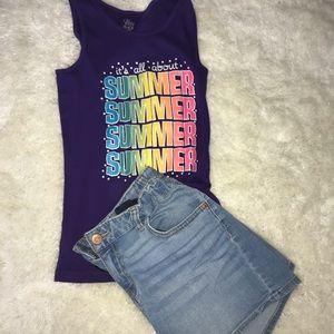 Kids Summer Tank